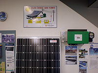Solar power inverter for Grid Connect System